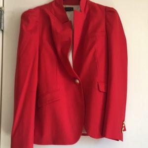 Zara red large details on shoulder large